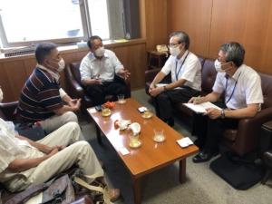 福岡県庁訪問